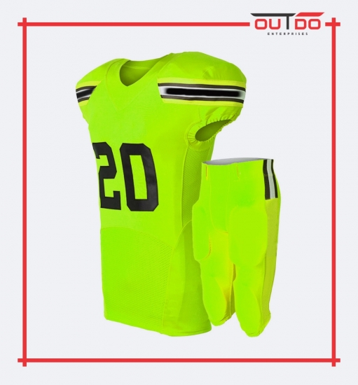 Custom American Football Uniform